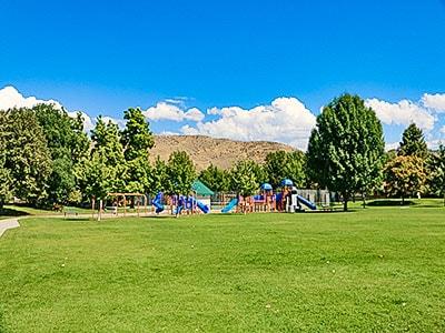 Castle park in Boise Idaho