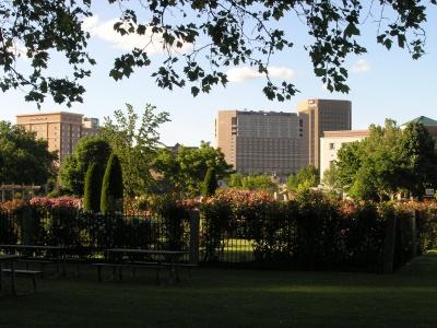 The Rose Garden at Julia Davis Park in Boise Idaho