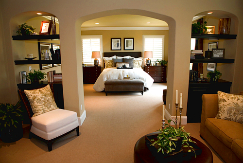 What is a good size for your retreat—the master bedroom?