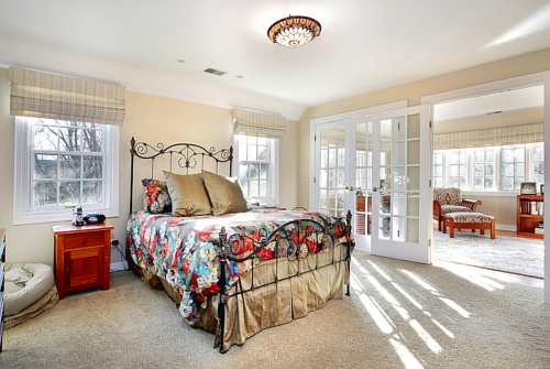 For your retreat the master bedroom the average master bedroom