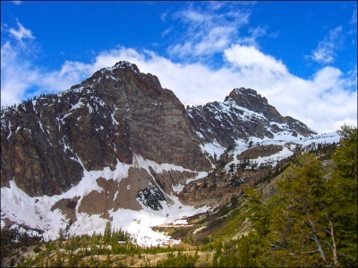 Thompson Peak in Idaho