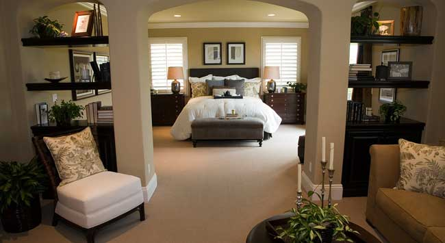 . What is a good size for your retreat the master bedroom